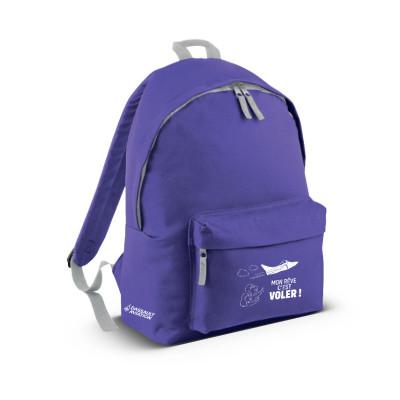Kids purple backpack
