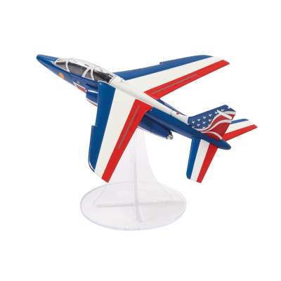 Official scale Alpha Jet Model - 1/72 - Patrouille de France - US Tour 2017