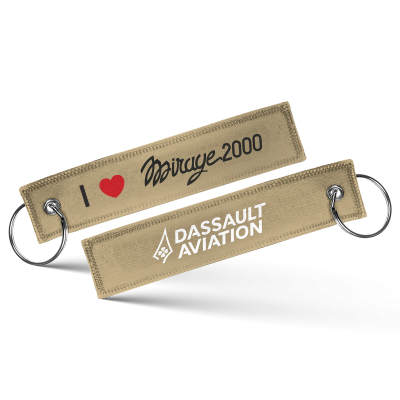 I love Mirage 2000 keychain