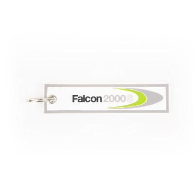 Falcon 2000S keychain