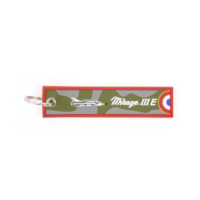 Mirage IIIE keychain