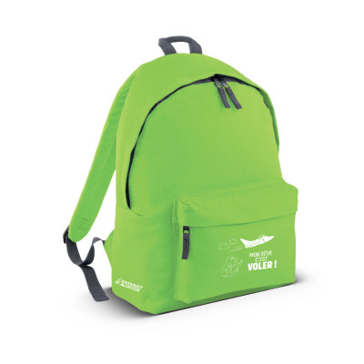 Kids green backpack
