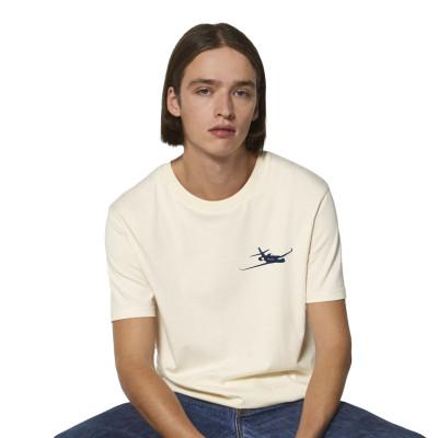 Falcon 6X beige Tee-shirt