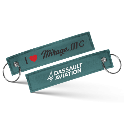 I love Mirage IIIC keychain