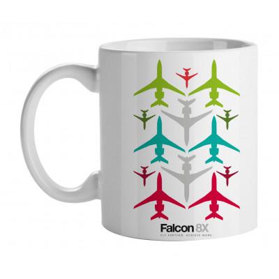 Falcon 8X Mug