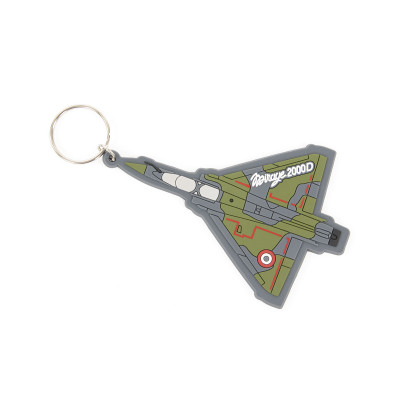 Mirage 2000D shape keychain