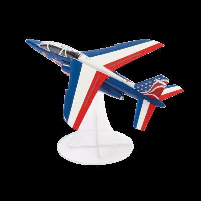 Maquette  Officielle  Alpha Jet - Echelle 1/72ème - Patrouille de France - Décoration US Tour 2017