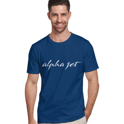 Tee-shirt Alpha Jet bleu