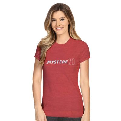 Tee-shirt Mystère 20 rouge chiné
