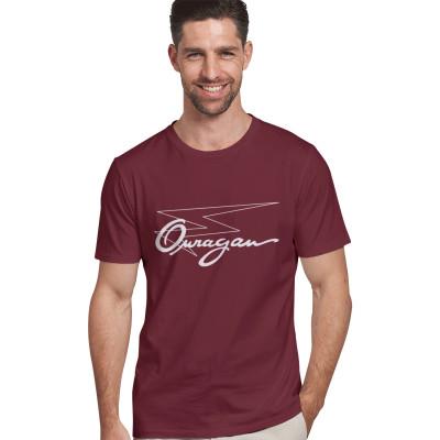 Tee-shirt Ouragan bordeaux