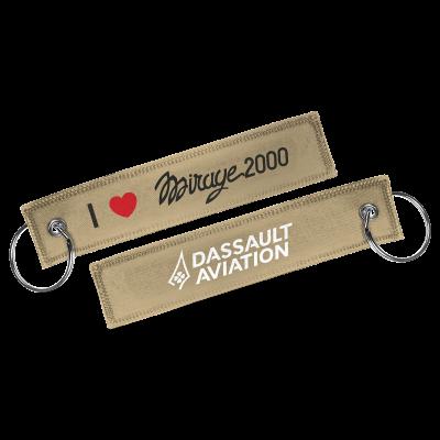 Porte-clés I love  Mirage 2000
