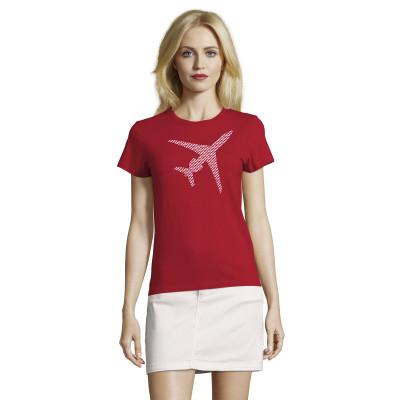 Tee-Shirt Femme Silhouette Falcon