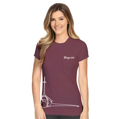 Tee-shirt Mirage 2000 mauve