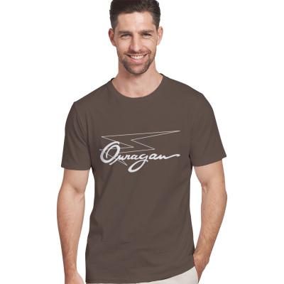 Tee-shirt Ouragan marron