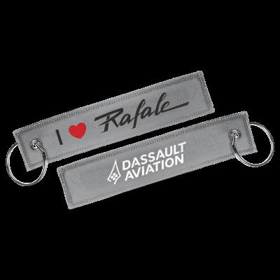 Porte-clés I love Rafale