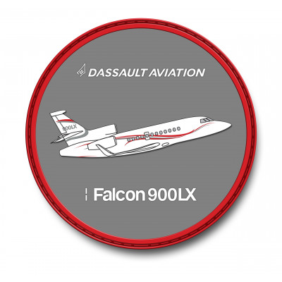 Falcon 900LX patch