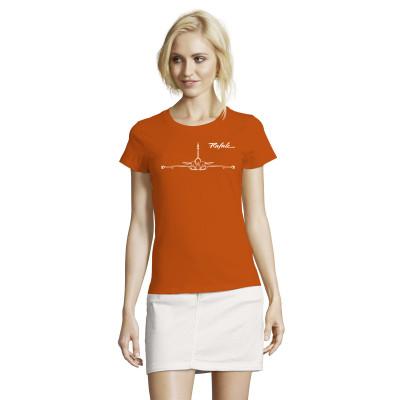 Tee-Shirt Femme Rafale vue de face
