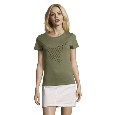 Tee-Shirt Femme Silhouette Rafale